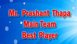 Main Team Best Player